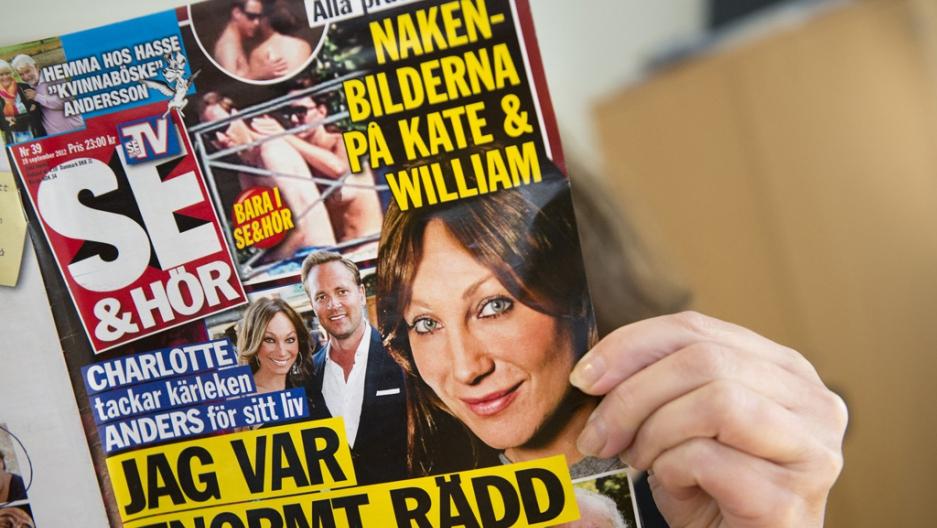 Kate Middleton bottomless photos published in Danish