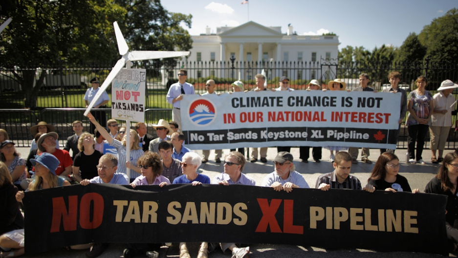 Thousands join Keystone pipeline protest in Washington DC ...