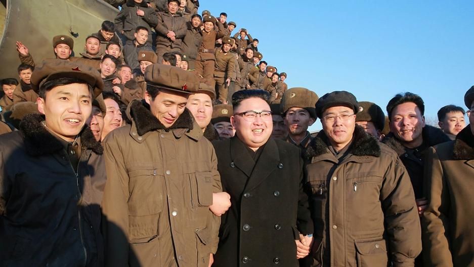 kim jong un guides north korea missile launch