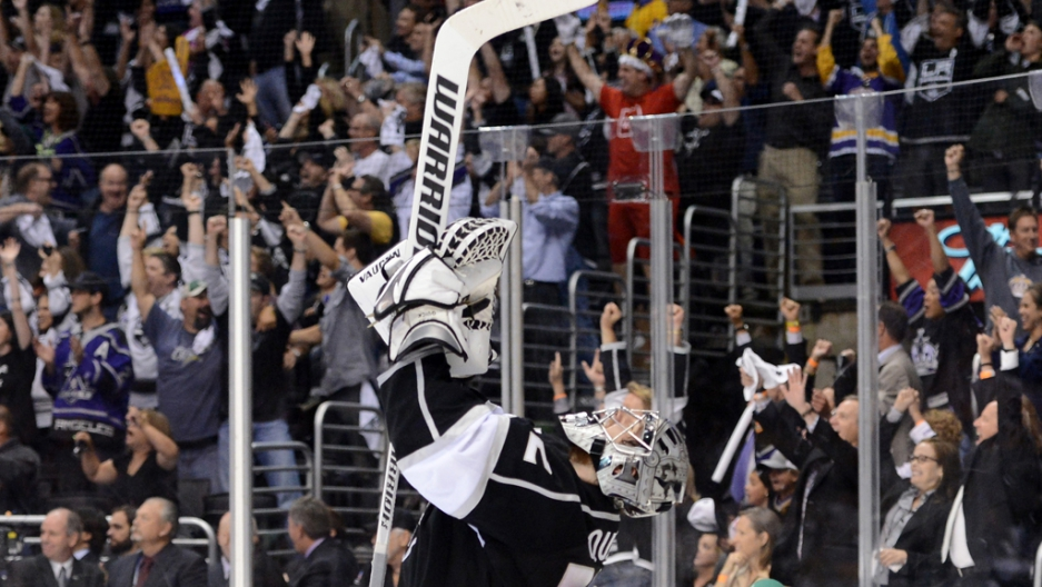 c5eaffffe LA Kings win Stanley Cup over New Jersey Devils