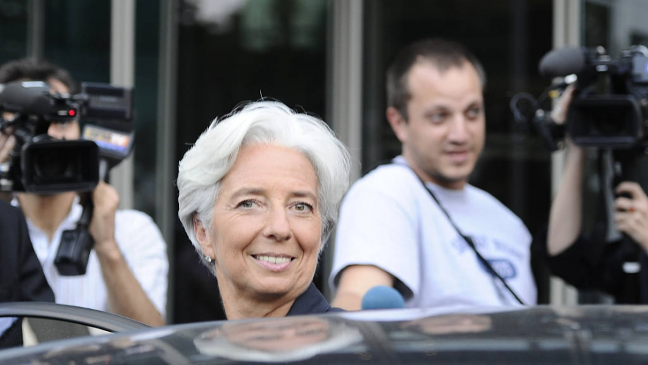 France's Christine Lagarde appointed to lead IMF (PHOTOS) | Public