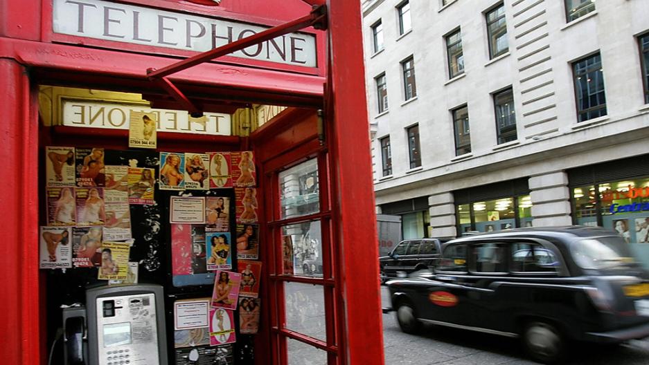 Секс на лондон