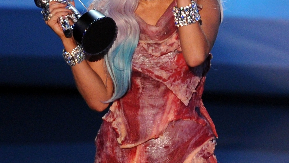 Lady Gaga's 'meat dress' on display at DC museum | Public ...