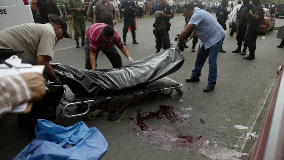 Mexico's killing spree: 10 decapitated and 31 shot down in