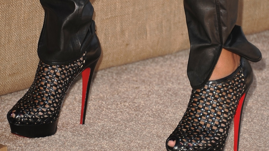 Beneath crushed fetish heel her high shoes images 654