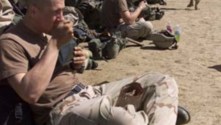 Troops In Afghanistan To Get Only Two Hot Meals A Day