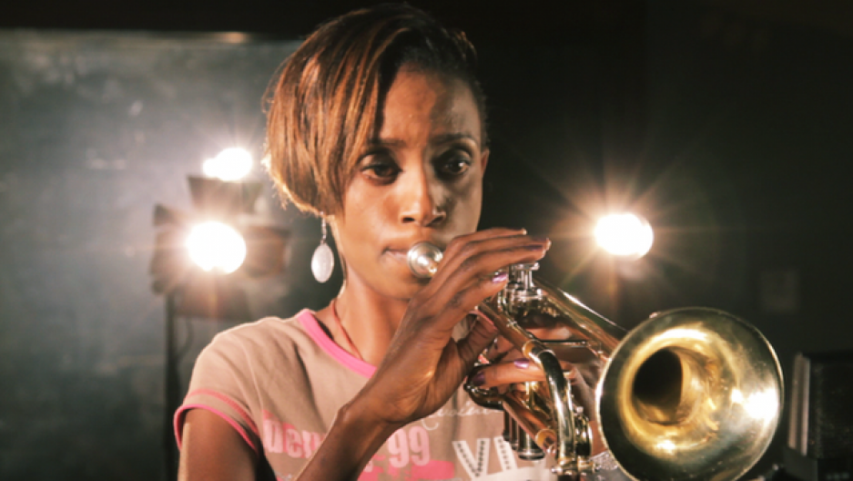 Optimism and Female Power from Kenya Trumpeter Christine