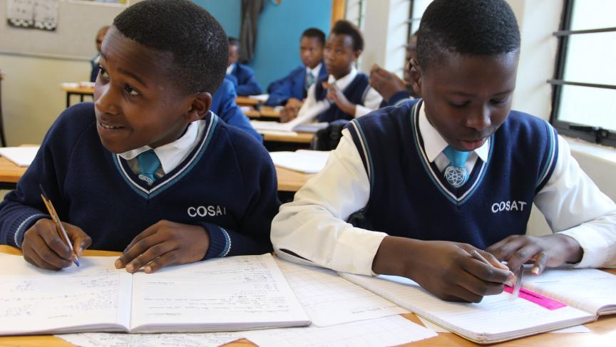 Students at COSAT