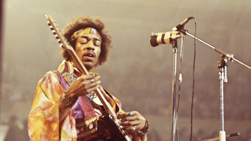 New Recording Surfaces of Jimi Hendrix Gig in London | Public Radio