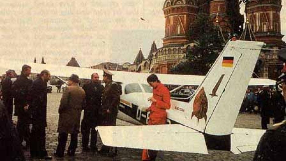 Remembering Mathias Rust's Flight to Red Square | Public Radio ...