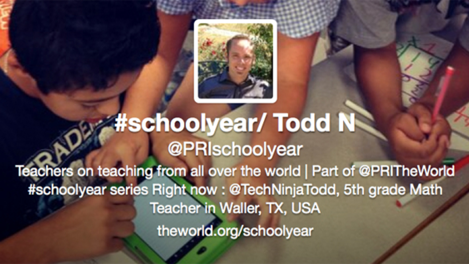 The #SchoolYear Twitter account