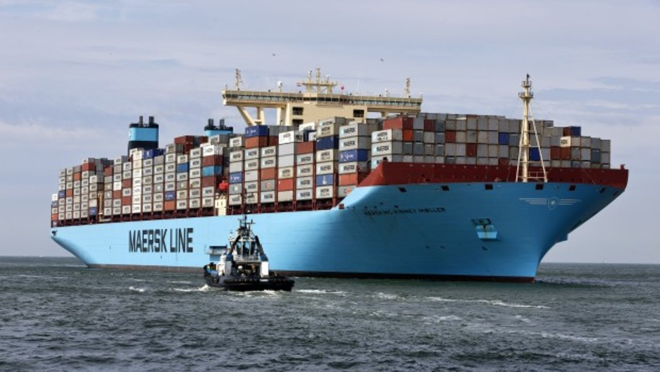 holy ship triple e the biggest container ship in the world
