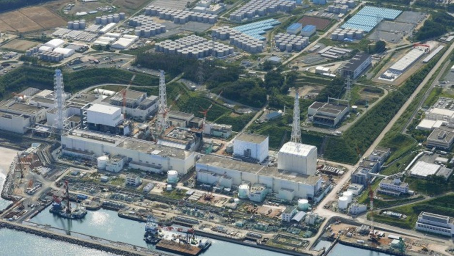 An aerial view of the tsunami-crippled Fukushima Daiichi nuclear power plant and its contaminated water storage tanks, taken August 31, 2013. Japan pledged nearly $500 million to contain leaks and decontaminate radioactive water fro