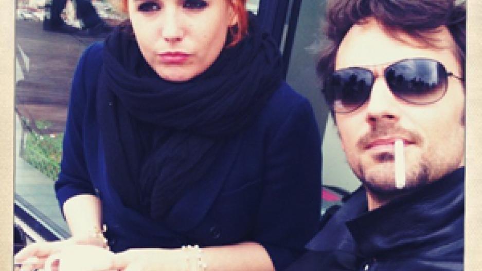 überlegene Materialien das billigste Billiger Preis French Band 'The Two' Stars Ara Starck and David Jarre ...