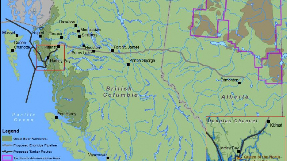 British Columbia rejects oil pipeline, casting Keystone in