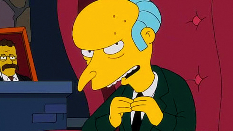 Montgomery Burns explains the fiscal cliff | Public Radio ...