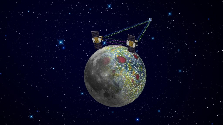 NASA's second Grail satellite sent to map Moon's gravity ... on freezing moon, satellite map of earth, detailed map of the moon, globes of the moon, old maps of the moon, colonization of the moon, earth orbiting the moon, satelite view from moon, google moon, terrain of the moon, temperature of the moon, atlas of the moon, labeled map of the moon, inner core of the moon, satellite engineer, gps of the moon, far side of the moon, satellite map of california, space maps of the moon, live feed of the moon,