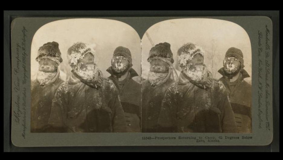 Prospectors in Alaska