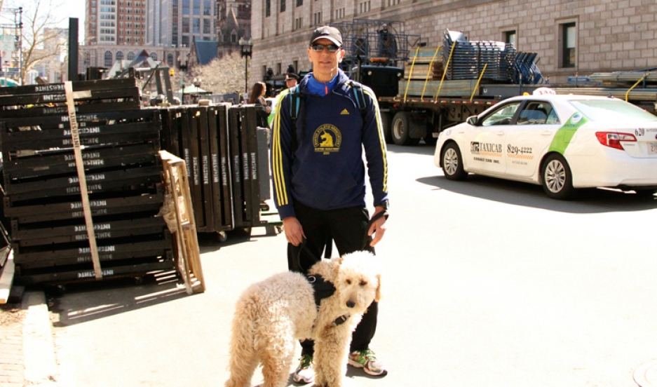 Dave Fortier survived the 2013 Boston Marathon bombing but still suffers from tinnitus, a ringing sound that doctors once told him would go away within a few days.