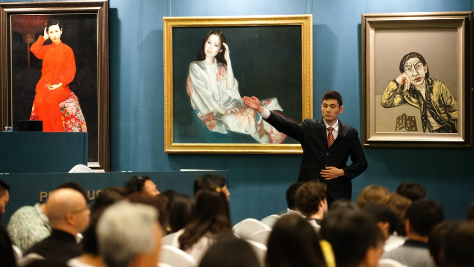 Art of the state: China's Party-run auction house is booming | The ...