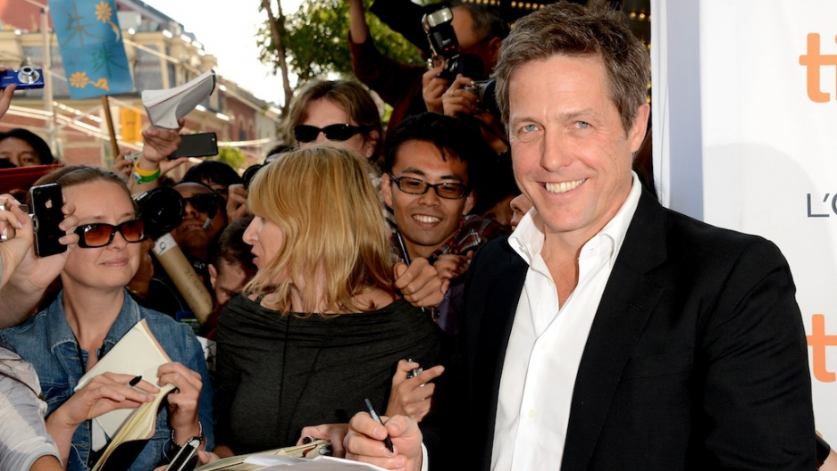 Hugh Grant Announces New Baby With Tinglan Hong On Twitter The World From Prx