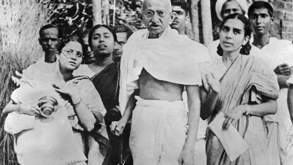 the nonviolent revolution of mohandas karamchand gandhi a major figure in indian history