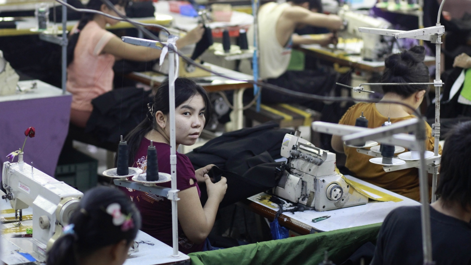 Made in Myanmar' clothing, coming to a mall near you | Public Radio
