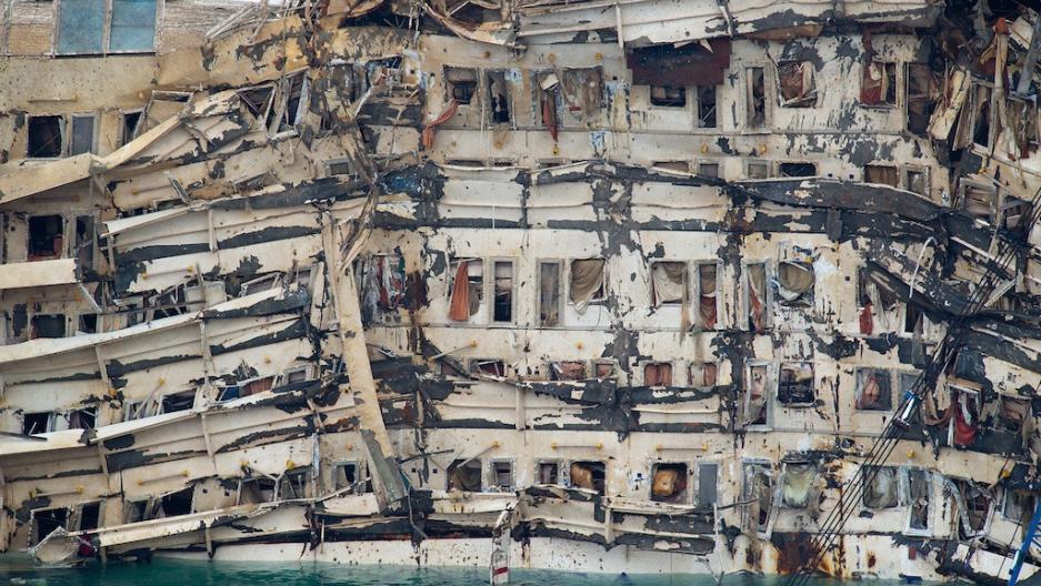 Raising the Costa Concordia | Public Radio International
