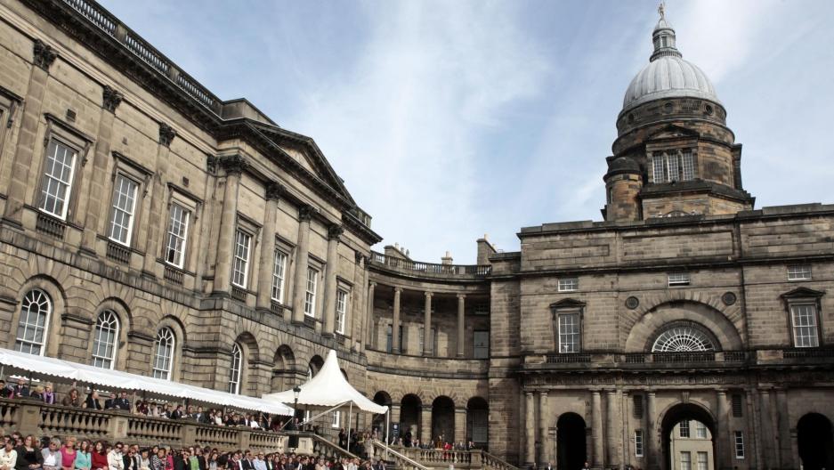 Edinburgh's very secret society   Public Radio International