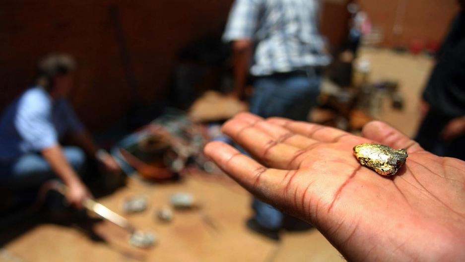 Life as a secret gold miner in South Africa   Public Radio