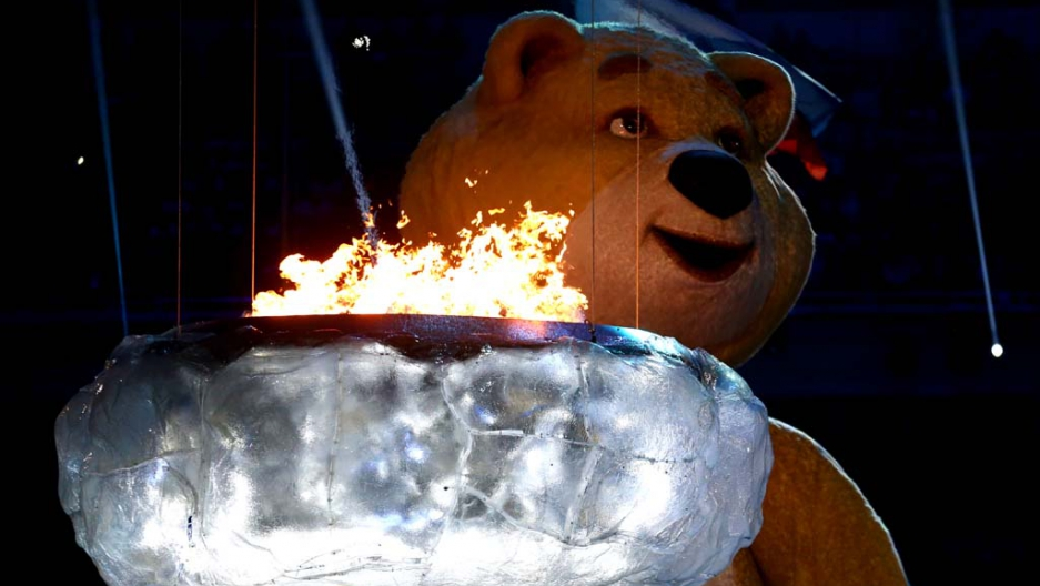 Don\'t cry, scary bear. It was a good Olympics | Public Radio ...