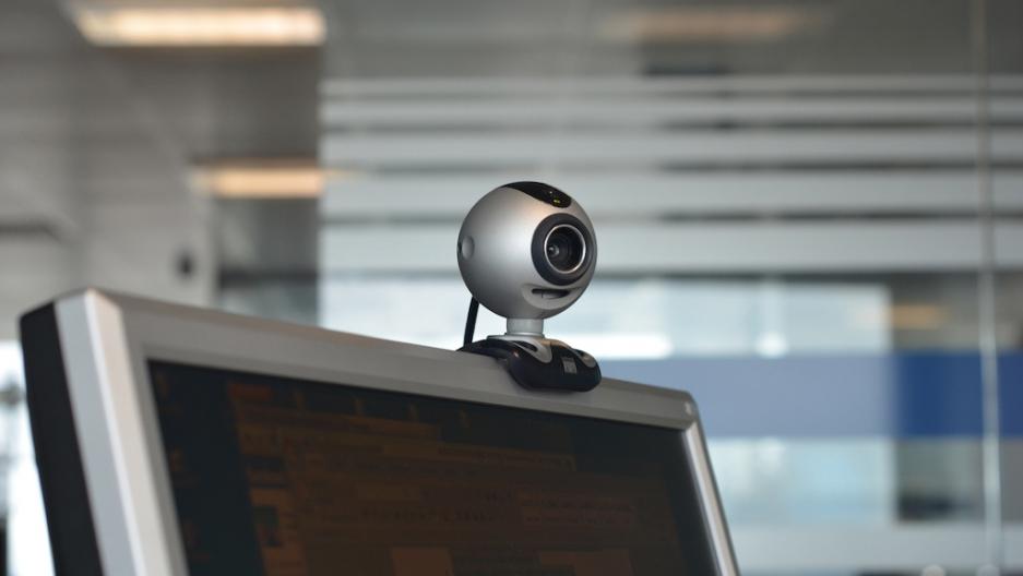Public webcam chat