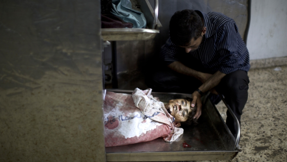These are the images from Gaza that are too graphic for many US news