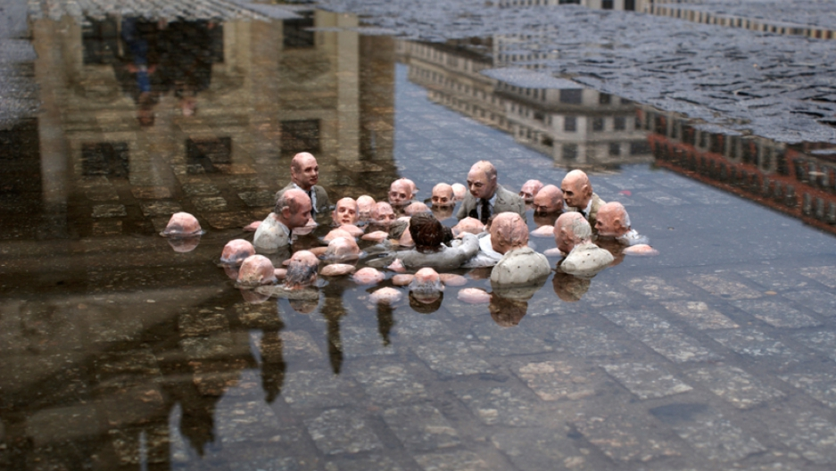 This is what politicians debating global warming will look