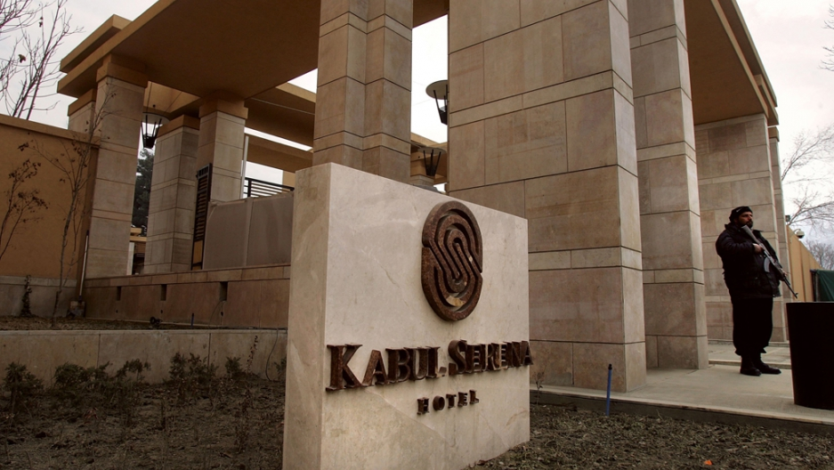 The Five Star Kabul Serena Hotel Opened In November 2005