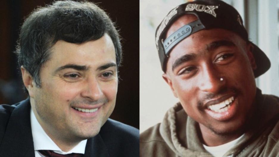 Putin aide Vladislav Surkov too busy bumping Tupac to care