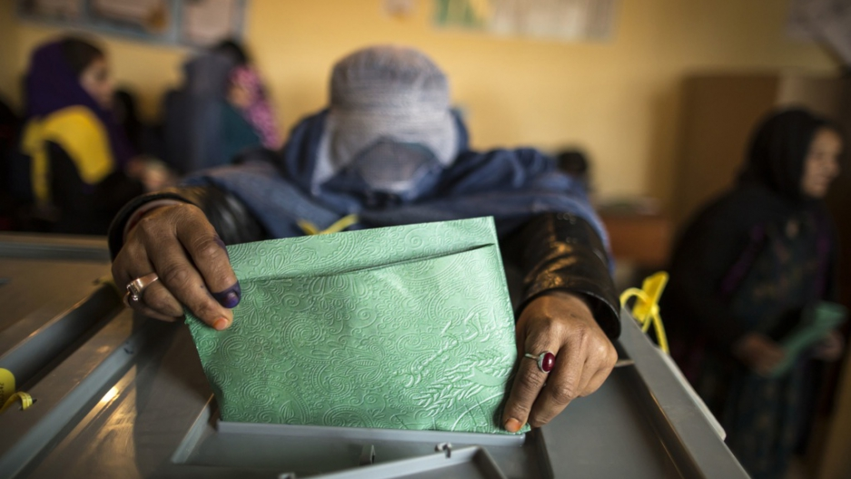 Why Afghan media spun election day   Public Radio International