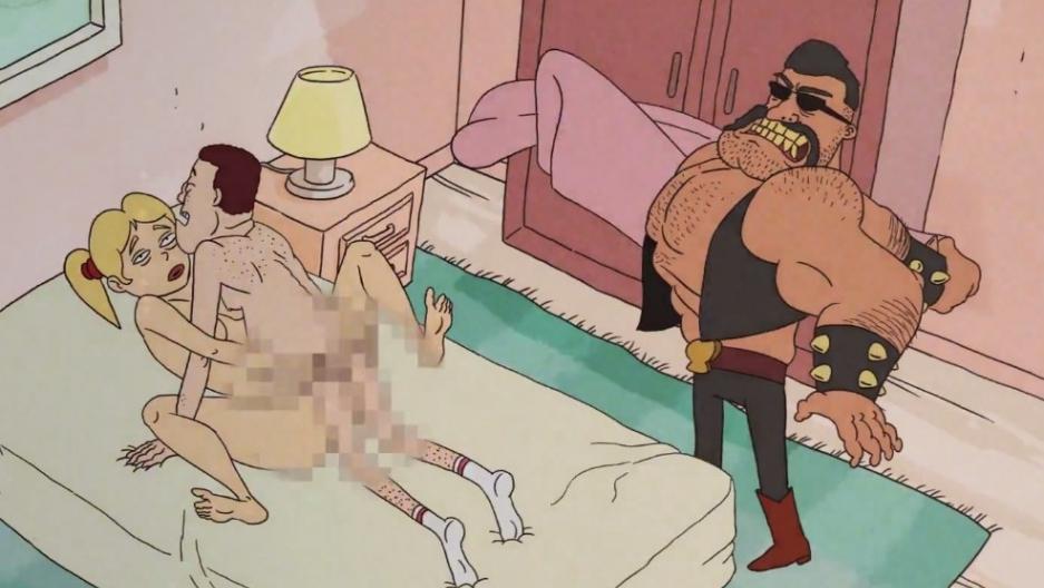 Public random sex