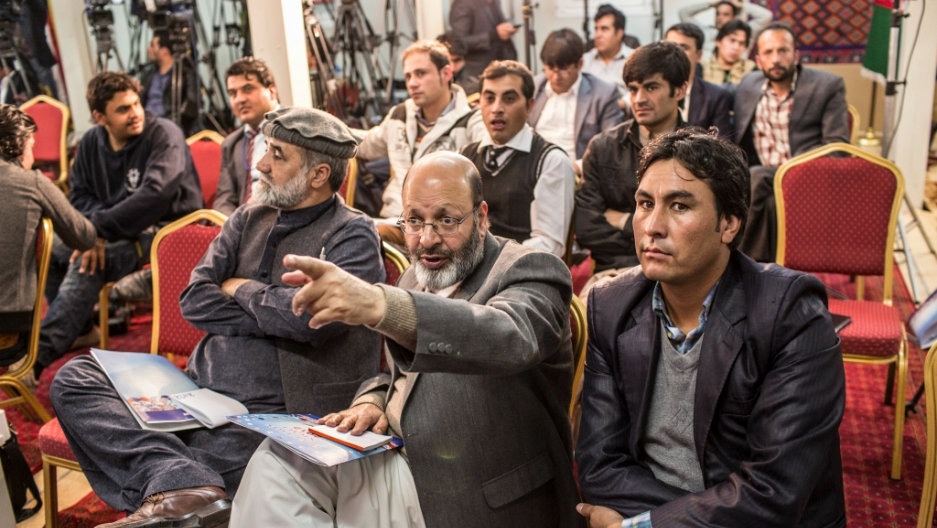 In Afghanistan, the news media is under attack from the