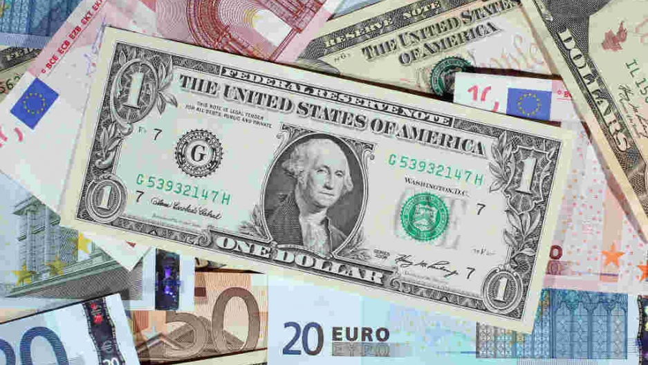 the euro has lost so much value it 39 s now only worth a us dollar public radio international. Black Bedroom Furniture Sets. Home Design Ideas