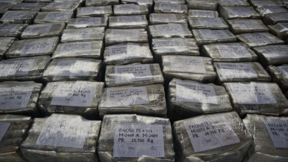 Cocaine packages in Peru