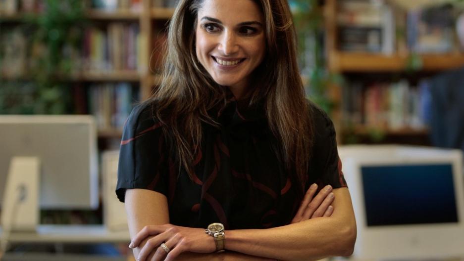 2bf83e75cc5 Rania Al Abdullah is the current Queen of Jordan as the wife of King  Abdullah II.