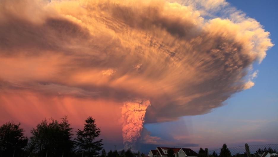 Chile Calbuco volcano 1