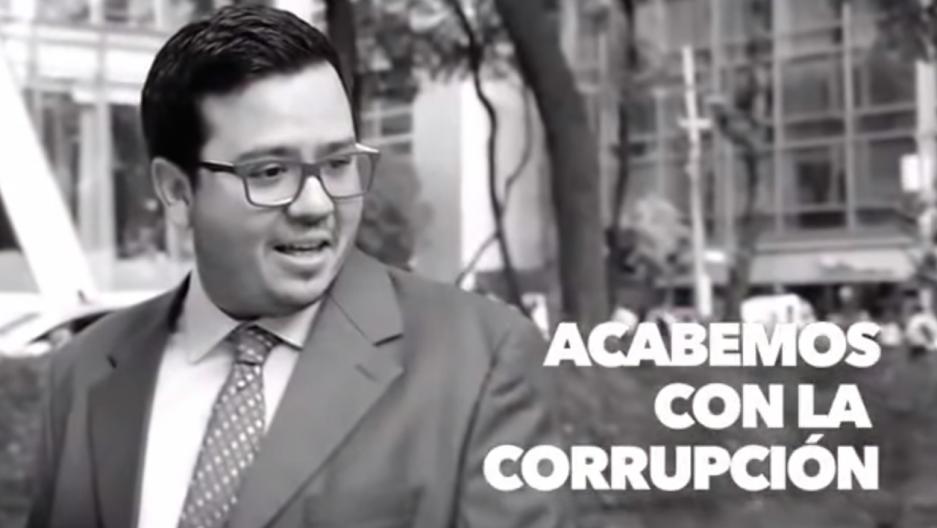 Mexico election campaign ad