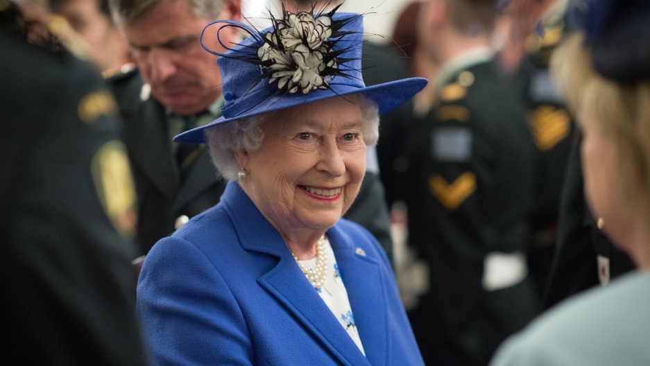 The British media rehearses the queen's death at least once a year