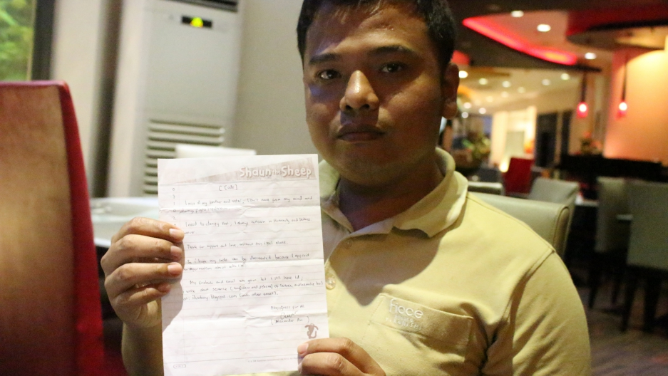 He was incarcerated for two years after running afoul of Indonesia's  blasphemy law by posting on Facebook that