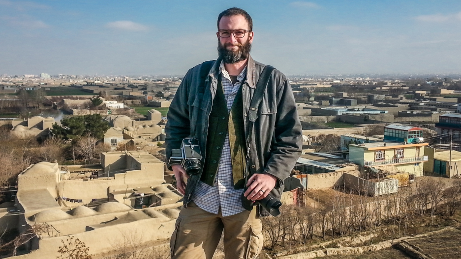 GroundTruth photojournalist Ben Brody on assignment for GroundTruth in Afghanistan