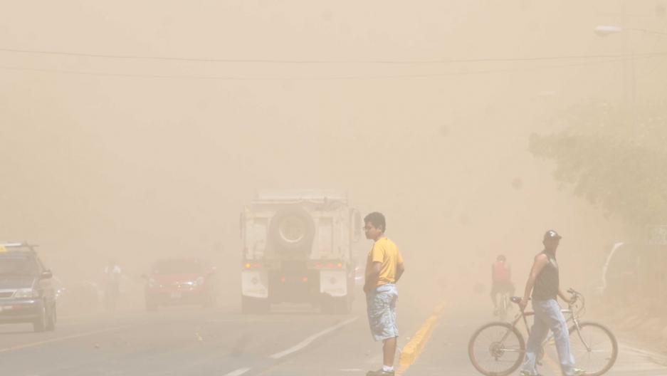 Leon Nicaragua dust