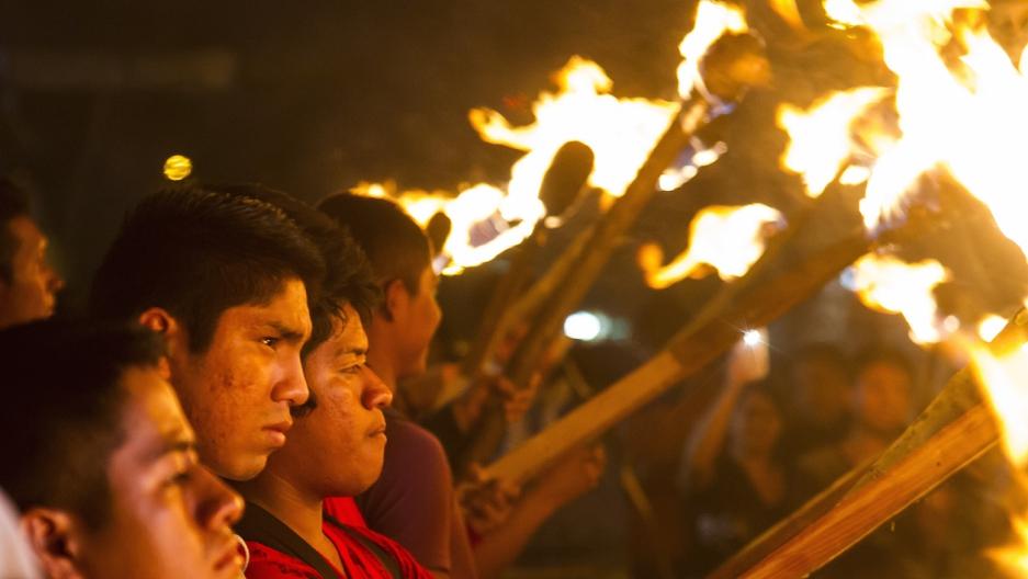 Mexico Ayotzinapa protest