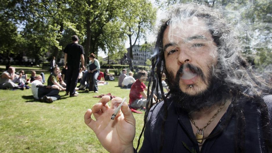 UK marijuana smoker